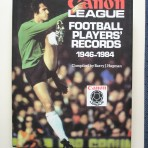 Canon League. Football Players' Records 1946-1984