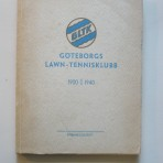 Göteborgs Lawn-Tennisklubb 1900-1940