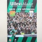 Ullevibladet GAIS-IFK Göteborg torsdag 17 april 2008