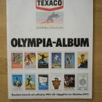 Olympia-Album. Olympiska spelen 1972. Resultat, historik och affischer 1912-68. Uppgifter om München 1972