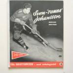 """Sven """"Tumba"""" Johansson. Mästare med puck"""
