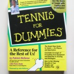 Tennis For Dummies. References for the Rest of Us