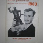 Våra juniorer… Ungdoms- och juniorstatistik 1963