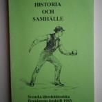 Idrott historia och samhälle 1983