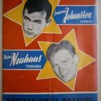 Ingemar Johansson-Heinz Neuhaus: Professionell boxning, Nya Ullevi, 13 juli 1958, Göteborg