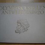 De olympiska spelen i Antwerpen 1920