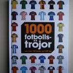 1000 fotbollströjor från över 100 länder och 500 lag