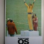 Kvällspostens minnesalbum från Olympiska Spelen i Montreal 1976