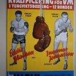 Kvalificering för VM-match i tungviktsboxning: Eddie Machen-Ingemar Johansson