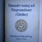 Simundervisning och simpromotioner i Göteborg – Göteborgs Simsällskap 1842-1942